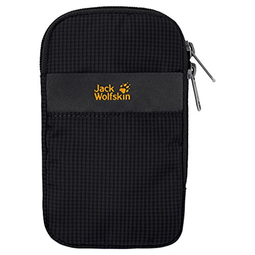 "Jack Wolfskin Smartphonehülle SMART PROTECT 5"" POUCH, black, One Size, 8002161-6000"