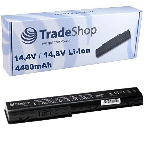 Akku 4400mAh für Hewlett Packard HP Pavilion dv7/CT dv7t dv7t-1000 dv7z dv7z-1000 dv7CT dv-7-t dv-7-t-1000 dv-7-z dv-7-z-1000 ersetzt NBP8A94 KS525AA HDX18 HSTNN-IB75 HSTNN-C50C HSTNN-Q35C - Pavilion Akku, Dv7 Hp
