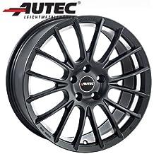 Aluminio Llanta autec verón Volkswagen Golf V 1K 8.5x 19Negro Mate Diamond Cut
