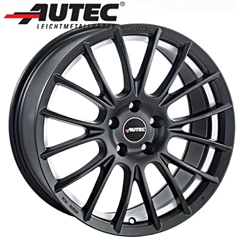 Aluminio Llanta autec verón Honda CR-V 2WD Generación 4–A partir de 2013RE5, RE68.5x 19Negro Mate Diamond Cut