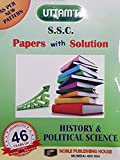 Uttam 10th SSC History & Political Science Papers with Solution 2018