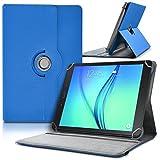 Seluxion - Etui de Protection et Support Universel L (Dimensions 27,5cm x 19cm), Couleur Bleu pour Tablette Polaroid Infinite 10,1 pouces
