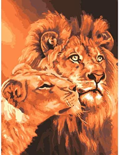 WACYDSD Puzzle Puzzle Puzzle Adulte 1000 Pièces Puzzle 3D DIY of Lions King Picture Décoration   De Gagner Une Grande Admiration Et Est Largement Confiance à La Maison Et à L'étranger  786cd4