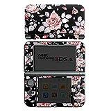Nintendo New 3DS XL Folie Skin Sticker aus Vinyl-Folie Aufkleber Rosen Blumen Muster