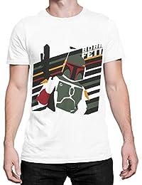 Star Wars - T-Shirt à Manches Courtes - Boba Fett - Homme