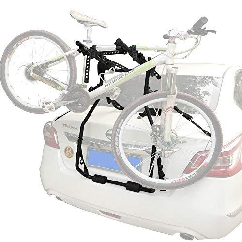 BINGFENG Portabiciclette per Auto Portabici Telaio Singolo Telaio di Fissaggio Scaffale di Carico Portapacchi Bicicletta Car Bicycle Rack Rear 110 * 60 * 15CM
