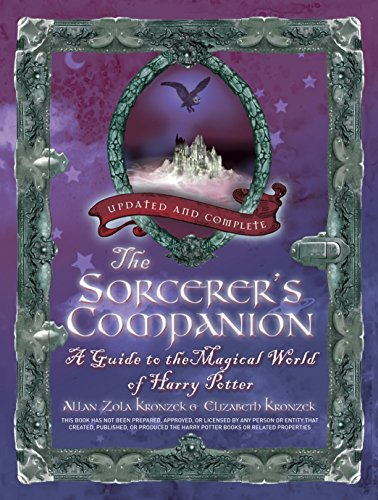 The Sorcerer's Companion: A Guide to the Magical World of Harry Potter por Allan Zola Kronzek