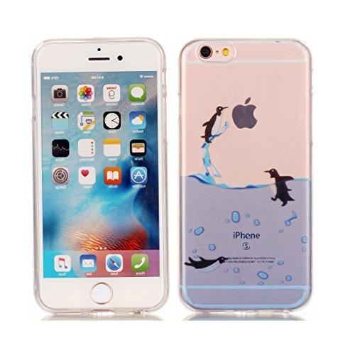 iPhone 6S Plus Custodia Case, Silicone molle TPU iPhone 6s Plus / 6 Plus copertura Cover, Cartoon Modelli di personalità // Tacchi alti // ShockProof Ultra Slim & Pesare leggero # 12