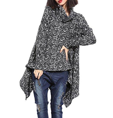 tres-chic-mayo-landa-mujer-asimetrico-risch-manga-larga-jersey-sweater-poncho-con-cuello-s-m-negro-b