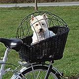 Generic Fahrradkorb für Hunde/Fahrrad / Haustiergepäckträger, zur Fixierung von Korbgeflecht, bequem, für Reisen