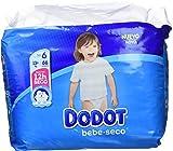 Dodot Pañales con Canales de Aire Bebé-Seco para Bebés, Talla 6 (13+ kg) - 66 Pañales