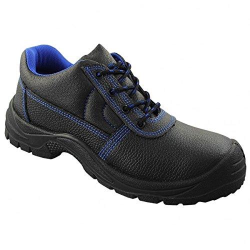 KERMEN - Bottes de sécurité S3 SRC Hautes Semelle anti-dérapante Chaussures de sécurité Noir - Luca