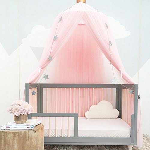 For Hammock Baby Kids Anti-mosquito Dome Fantasy Champion Net Curtain Play Tent Bed Canopy Mosquito Bed Bedding Round Lace Mother & Kids