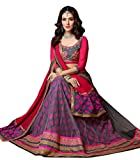 Youth Mantra Women's Net Lehenga Choli (...