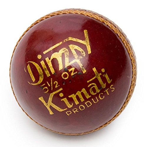 Kimati-Dimpy-Leather-Cricket-Ball-Red