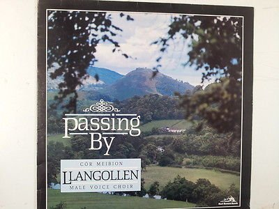 LP PASSING BY Llangollen Male voice choir BM124