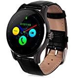 GBlife Bluetooth Smart Watch Herzfrequenz Monitor Armbanduhr für Android + IOS