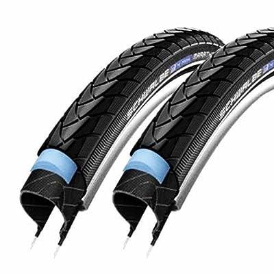 2x Schwalbe Fahrrad Reifen 35-349 Marathon Plus HS440 16x1.35 SmartGuard Reflex