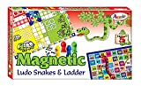 #4: Occasions Magnetic Ludo Snakes and Ladder, Multi Color With Free 1 Magic Logo Highlight Pen With Stylus (Any Colour )