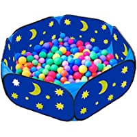 Livememory Kids Ball Pit Children Foldable Ball Pool with Zippered Storage Bag Indoor and Outdoor Play Tent-42Inch(Balls not Included