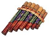 Flûte de Pan en Bambou Instrument de Musique Bois Artisanal Panpipes Bamboo Flauta panflute