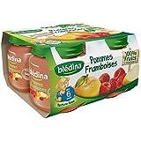 Blédina petits pots pomme framboise 4x130g dès 6 mois - ( Prix Unitaire ) - Envoi Rapide Et Soignée