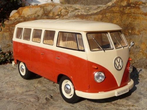 "RC Modell VW BUS T1 Classic mit LICHT 26cm \""Ferngesteuert 27MHz\"""