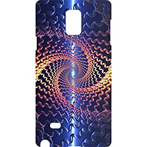 a AND b Designer Printed Mobile Back Cover / Back Case For Samsung Galaxy Note 4 (SG_N4_3D_2597)