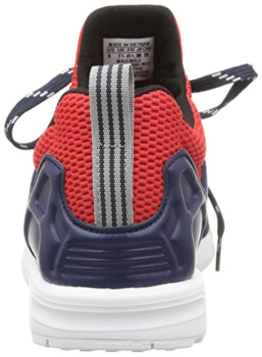 adidas Zx Flux Nps Updt, Baskets Basses homme Bleu (Dark Blue/Dark Blue/Red)