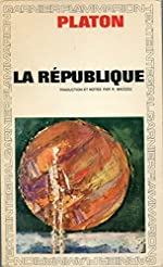La République Traduction, introduction et notes de Robert Baccou de Platon