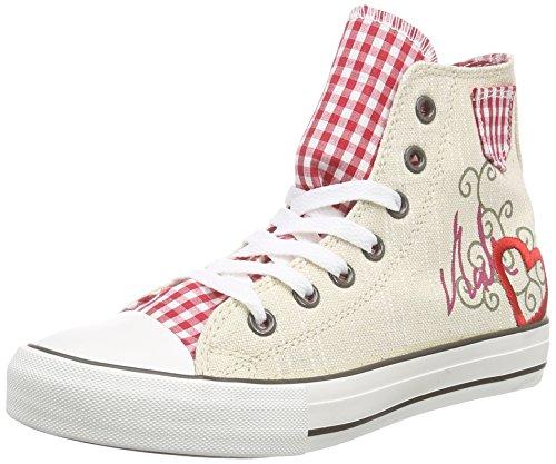 Krüger MADL Red Heart, Damen Hohe Sneakers, Mehrfarbig (9), 40 EU