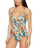 Gossard Damen Badeanzüge Einteiler Egoboost Tropical, Mehrfarbig, 70 D