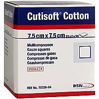 Cutisoft Cotton Kompressen 7,5x7,5 cm Steril, 25X2 St preisvergleich bei billige-tabletten.eu