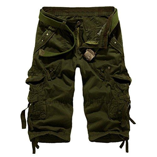Brinny -  Pantaloncini  - Uomo Army Vert 1