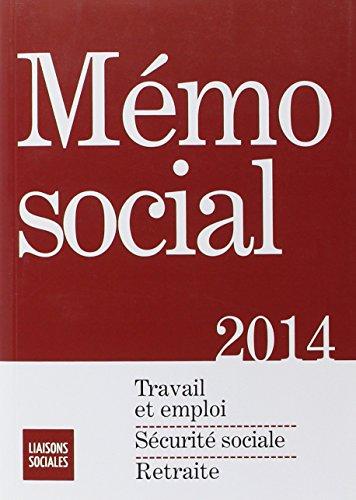 Mémo social par Diane Rousseau, Marguerite d' Ornano, Lisiane Fricotté, Valérie Merlin, Collectif