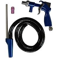Asturo Sandstrahlpistole semiprofessionell 3147500 Set PS 2 blau/silberfarben