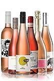 GEILE WEINE Weinpaket ROSÉ (6 x 0,75) Roséweine im Probierpaket von Winzern aus Deutschland, Österreich, Italien und Südafrika