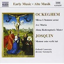 "Messe ""L'homme armé"" / Ave Maria / Alma Redemptoris Mater"
