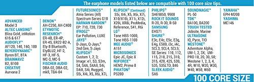 Comply Memory Schaum T-100 Ersatz Kopfhörer Ohrstöpsel schwarz Medium 3 Paar - 7