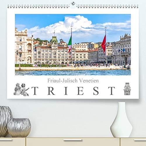Friaul-Julisch Venetien - Triest(Premium, hochwertiger DIN A2 Wandkalender 2020, Kunstdruck in Hochglanz): Die Stadt Triest - Habsburger Erbe trifft ... (Monatskalender, 14 Seiten ) (CALVENDO Orte)