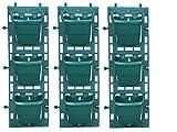 #5: Planters Vertical Garden Green Panels ( 3 frames + 9 pots )