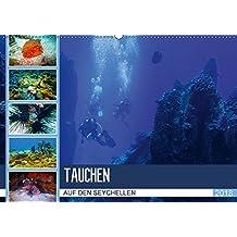 Tauchen auf den Sychellen (Wandkalender 2018 DIN A2 quer): Faszination Unterwasserwelt (Monatskalender, 14 Seiten ) (CALVENDO Orte) [Kalender] [May 23, 2017] Meutzner, Dirk