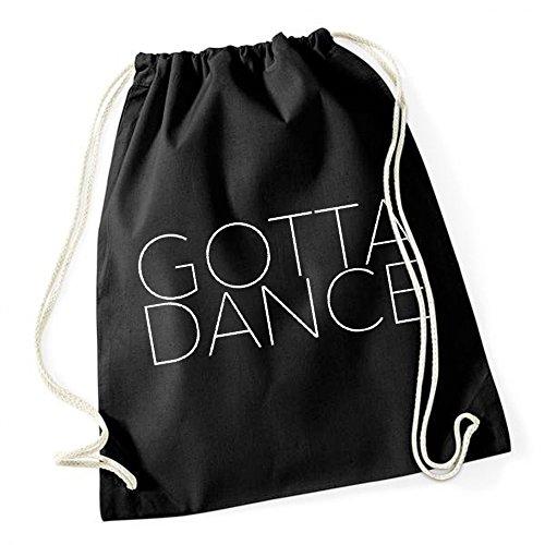 Gotta Dance Borsa De Gym Nero Certified Freak