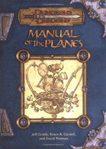 Manual of the Planes: Dungeons & Dragons Rulebook (D&D Rules Expansion)