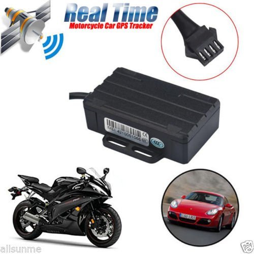 Hot Motorcycle Vehicle Car GPS Tracker GSM GPRS Real Time Tracking Device LK210 with free lifetime tracking