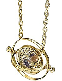 Karatcart GoldPlated Long Chain Harry Potter Sand Timer Necklace for Women