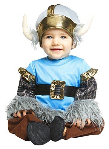 Imagen de my other me  disfraz de bebé vikingo para niño, 1 2 años viving costumes 204978