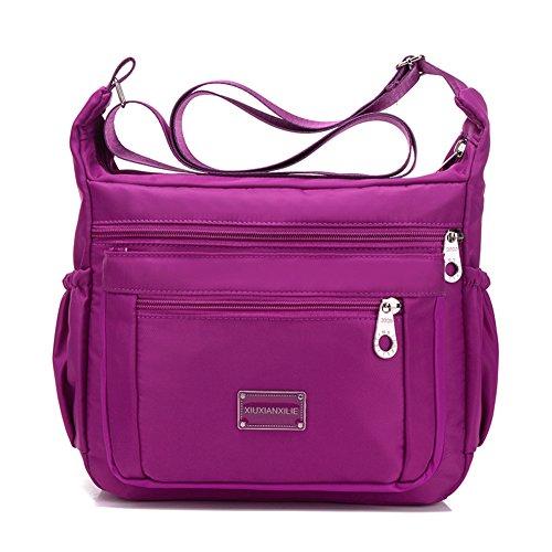 Sacs à main en nylon/Incline sac à bandoulière/tissu imperméable à l'eau de grande capacité/Oxford loisirs unique épaule diagonal paquet-B B