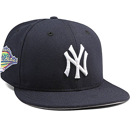 New Era New York Yankees Mariano Rivera 1996 World Series Patch 59FIFTY Fitted Cap by Size 7 1/8