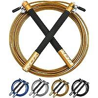 RDX Ajustable Saltar Cuerda Salto Comba Velocidad Crossfit Rapida Pérdida Peso Cable Boxeo Entrenamiento Fitness